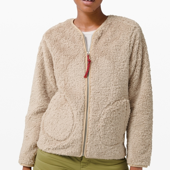 Lululemon Oh So Sherpa Full Zip Trench